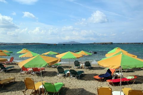 chania city beach